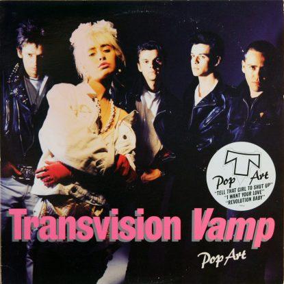 Transvision Vamp - Pop Art - Vinyl