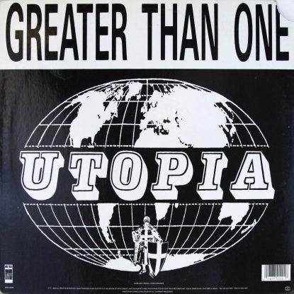 Utopia - Greater Than One - Vinyl